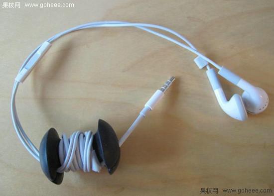 杂乱化为绕指柔 手机耳机充电线缠绕器相助