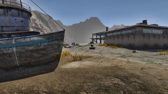 Wasteland Environment Map