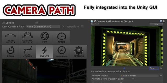 Camera Path Animator - Animate Cutscenes with Splines