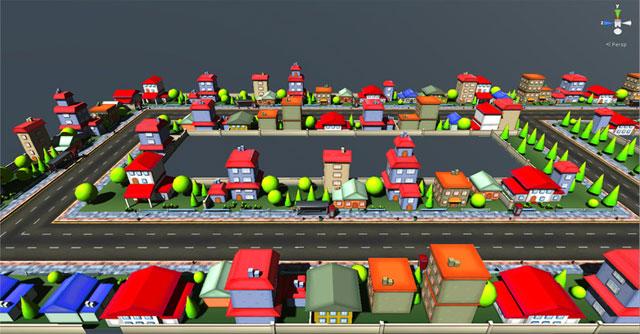 Cartoon City Four