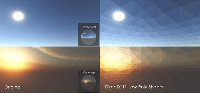 DirectX 11 Low Poly Shader