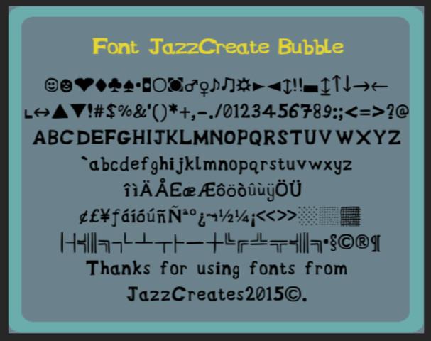 Bubble Font(Full Version)