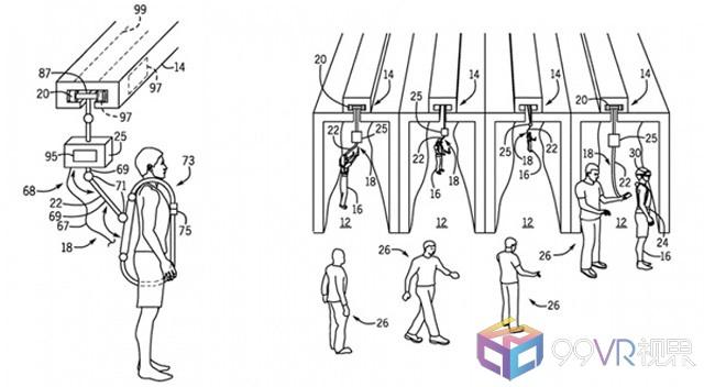 环球影业申请多人VR系统专利