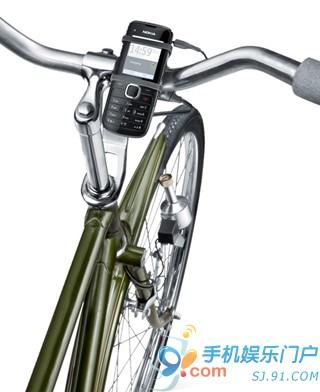 正常行驶即可充电 诺基亚自行车充电设备