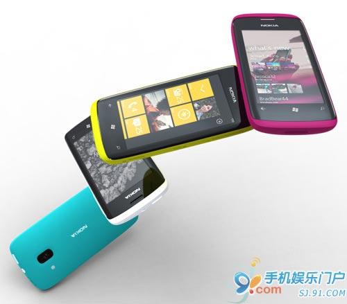诺基亚首款WP7智能手机年内推出