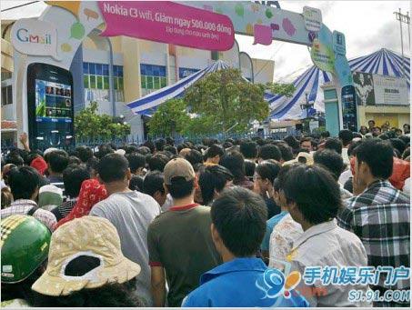 诺基亚将投2亿欧元在越南建厂
