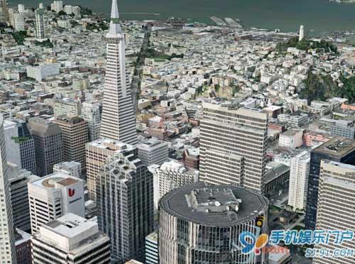 诺基亚推出Ovi Maps 3D对抗Google Earth