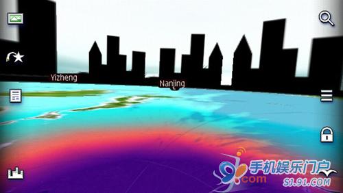 诺基亚3D World Gaze换个视角看世界